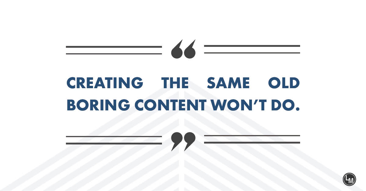 the same old content wont work, upgrade your content marketing for success in 2020